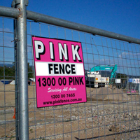Pink Fence - Commercial Fencing Hire - Temporary Fencing Hire & Rental