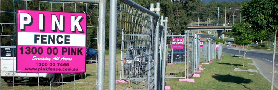Welcome To Pink Fence Hire - Melbourne